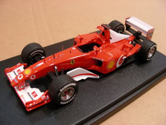 Ferrari F2002 GP France World Champion Kit Built