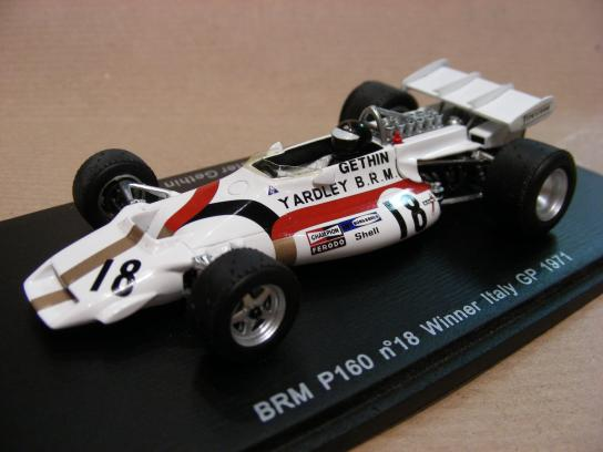 BRM P160 #18 winner Italy GP 1971
