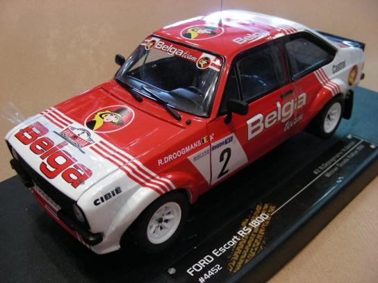 Ford Escort RS1800 #2 Win. Skoda rally 1981