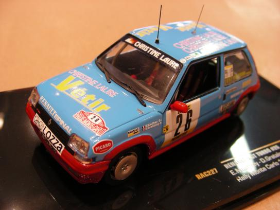 Renault 5 GT Turbo n°26 Rally Monte Carlo 1988