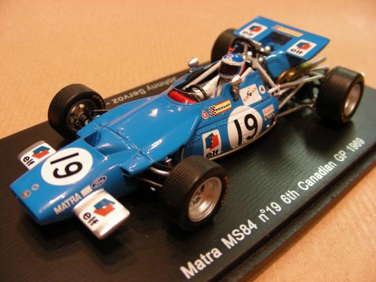 Matra MS84 #19 6th Canadian GP 1969
