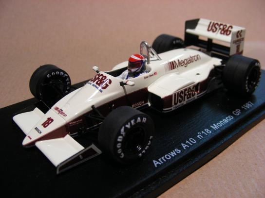Arrows A10 #18 Monaco GP 1987