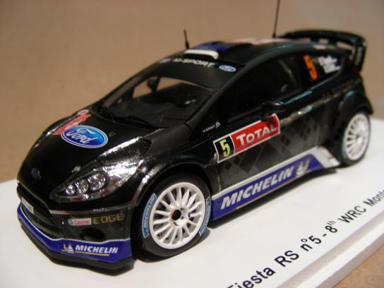 Ford Fiesta RS #5 8th WRC Monte Carlo 2012