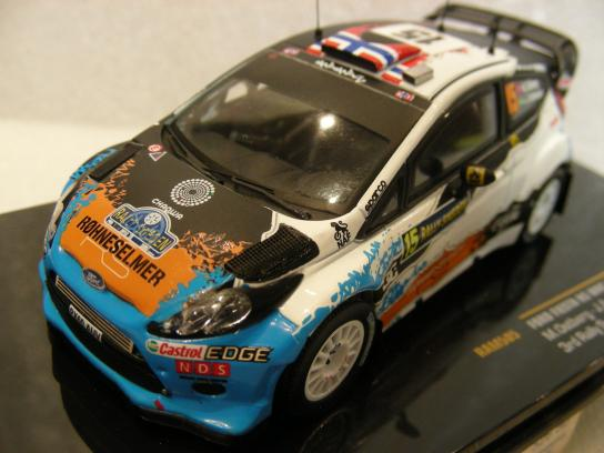 Ford Fiesta RS WRC #15 3rd Rally Sweden 2012