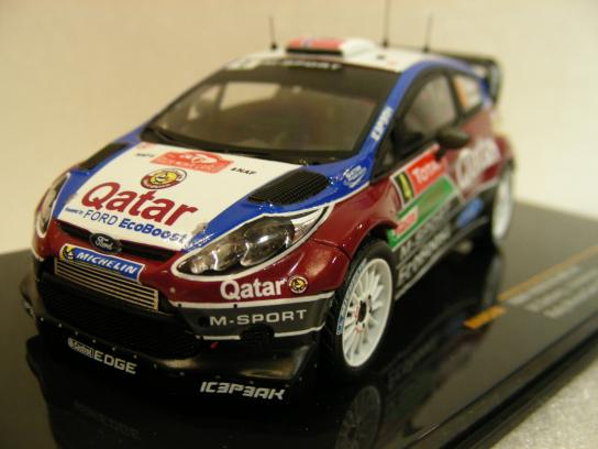 Ford Fiesta RS WRC #4 Montecarlo 2013