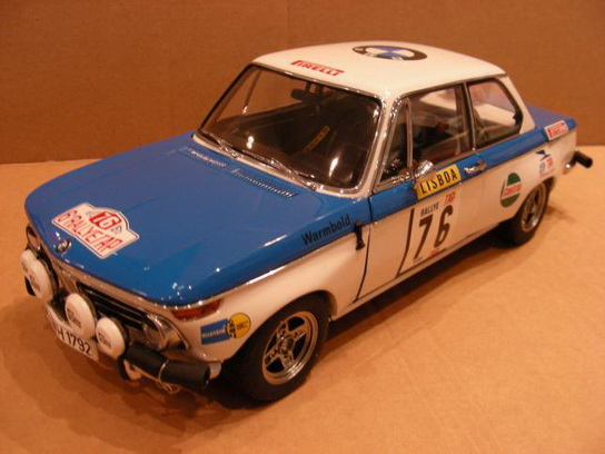 BMW 2002 Tap Rally 1972 #76