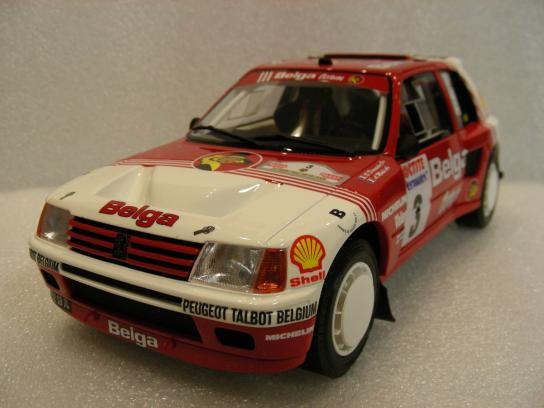 Peugeot 205 T16 Gr.B #3 Ypres Rally 1985