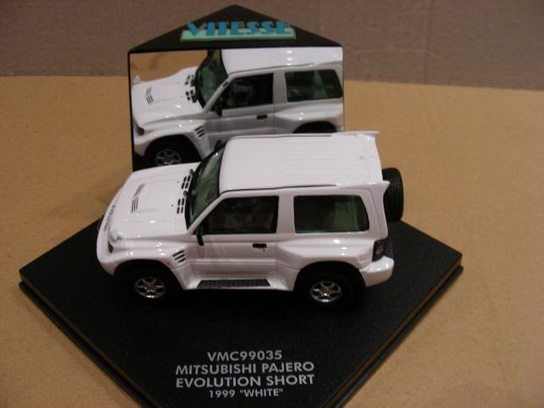 Mitsubishi Pajero Evolution Short 1999