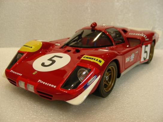 Ferrari 512 S Long Tail Le Mans 1970 #5