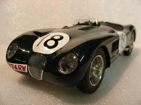 jaguar C Type Win 24h France 1953 #18