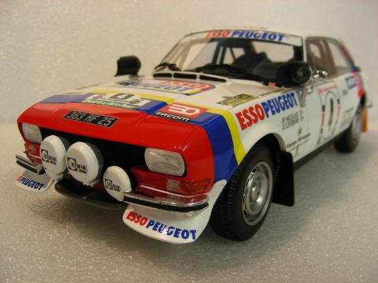 Peugeot 504 Gr4 Coupe V6 Safari Rally 1984